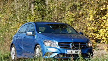 Mercedes A 180 Style Blue Efficiency Edition, Frontansicht