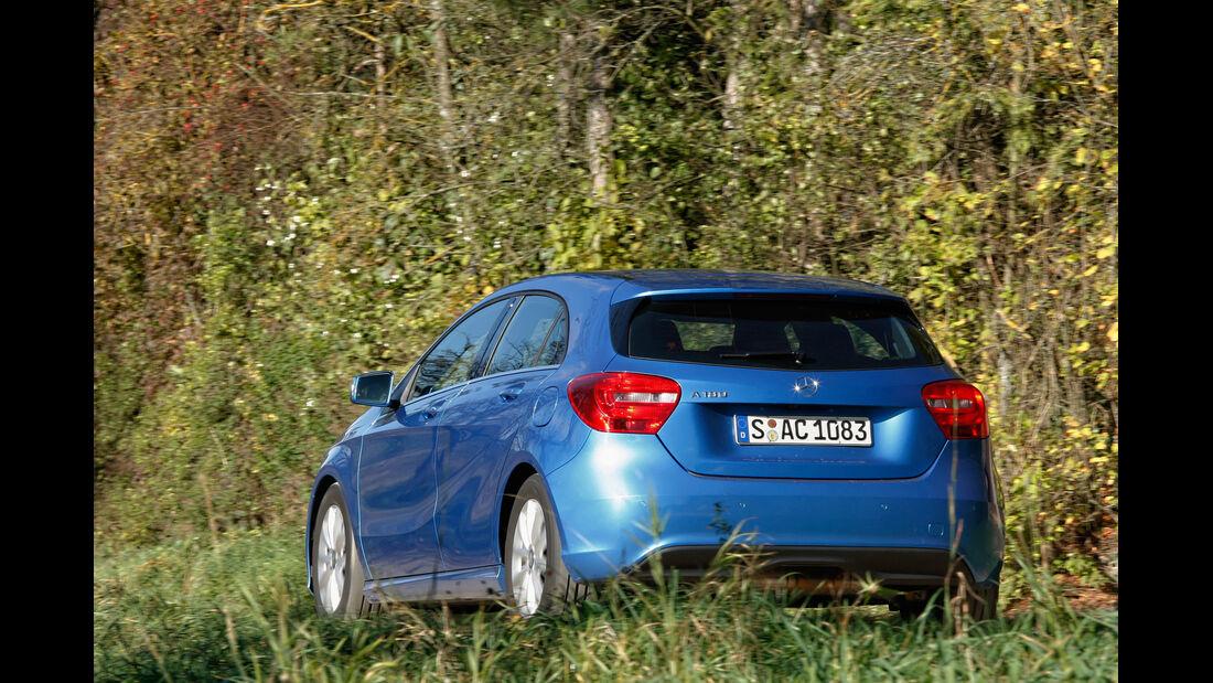 Mercedes A 180 Style Blue Efficiency Edition, Heckansicht