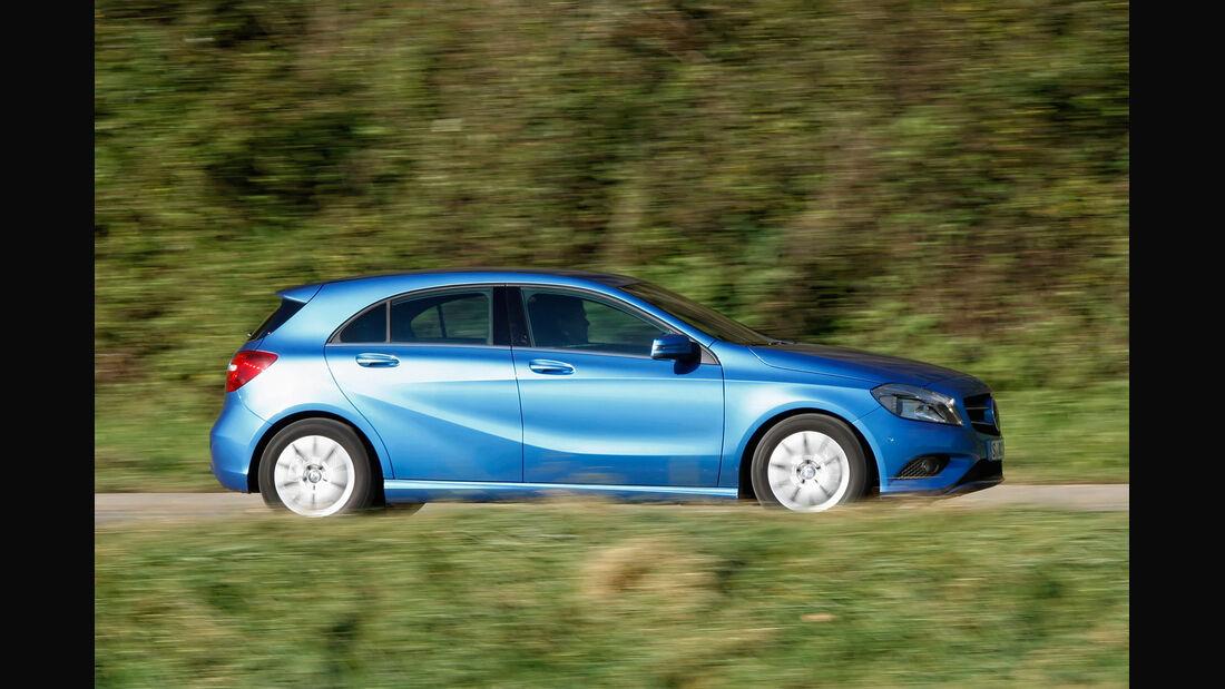 Mercedes A 180 Style Blue Efficiency Edition, Seitenansicht