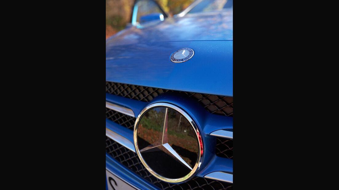 Mercedes A 180 Style Blue Efficiency Edition, Stern, Kühlergrill