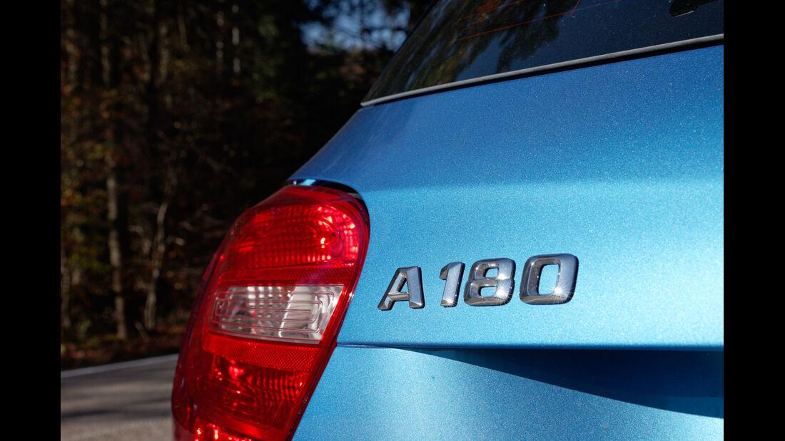 Mercedes A 180 Style Blue Efficiency Edition, Typenbezeichnung