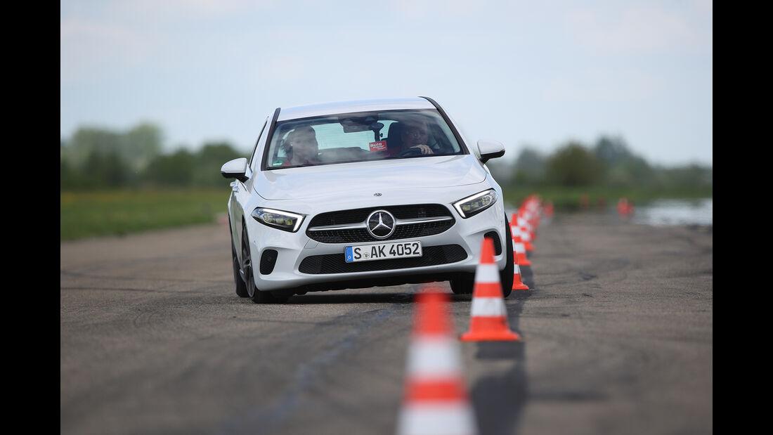 Mercedes A 200 7G-DCT, Exterieur