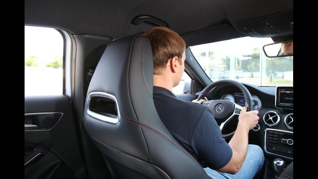 Mercedes A 200 CDI AMG Sport, Cockpit