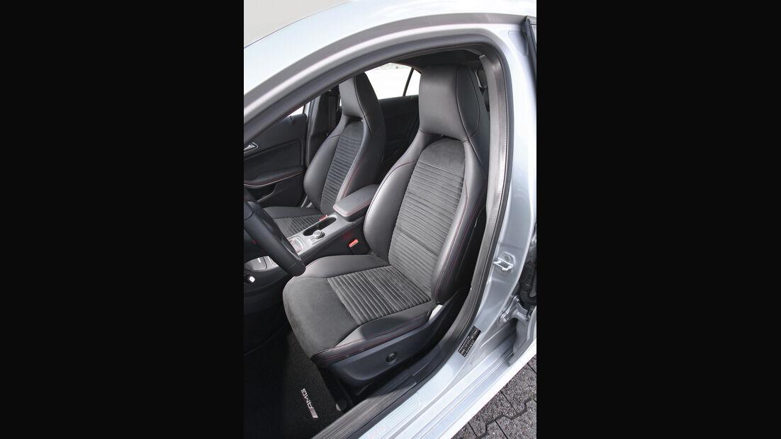 Mercedes A 200 CDI AMG Sport, Fahrersitz