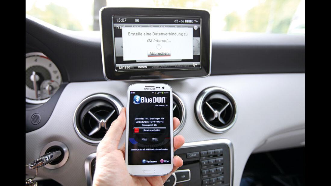 Mercedes A 200 CDI AMG Sport, Handy, Webanschluss