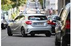 Mercedes A 200 CDI AMG Sport, Heck, Einparken