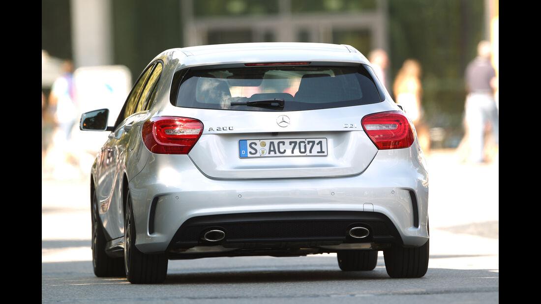 Mercedes A 200 CDI AMG Sport, Heckansicht