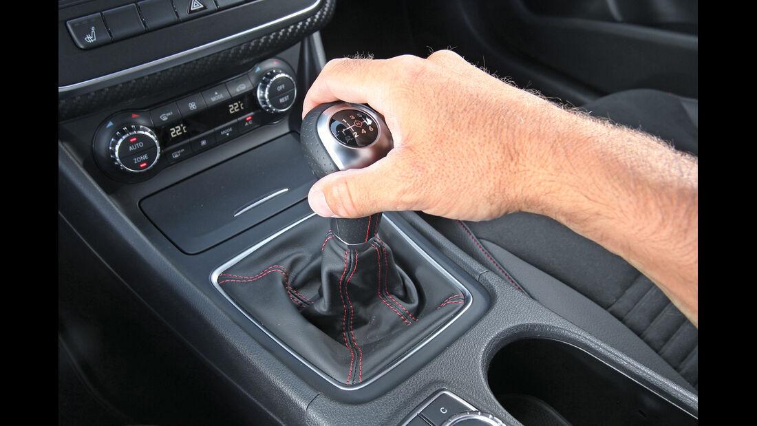 Mercedes A 200 CDI AMG Sport, Schaltung, Schalthebel