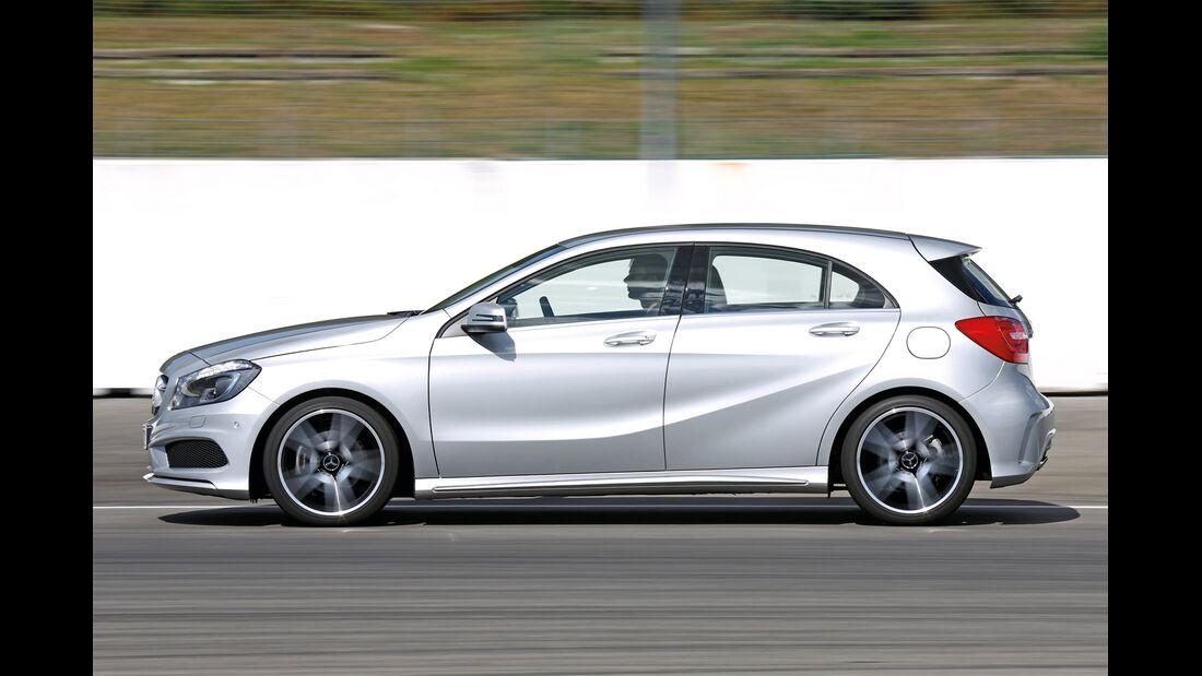 Mercedes A 200 CDI AMG Sport, Seitenansicht