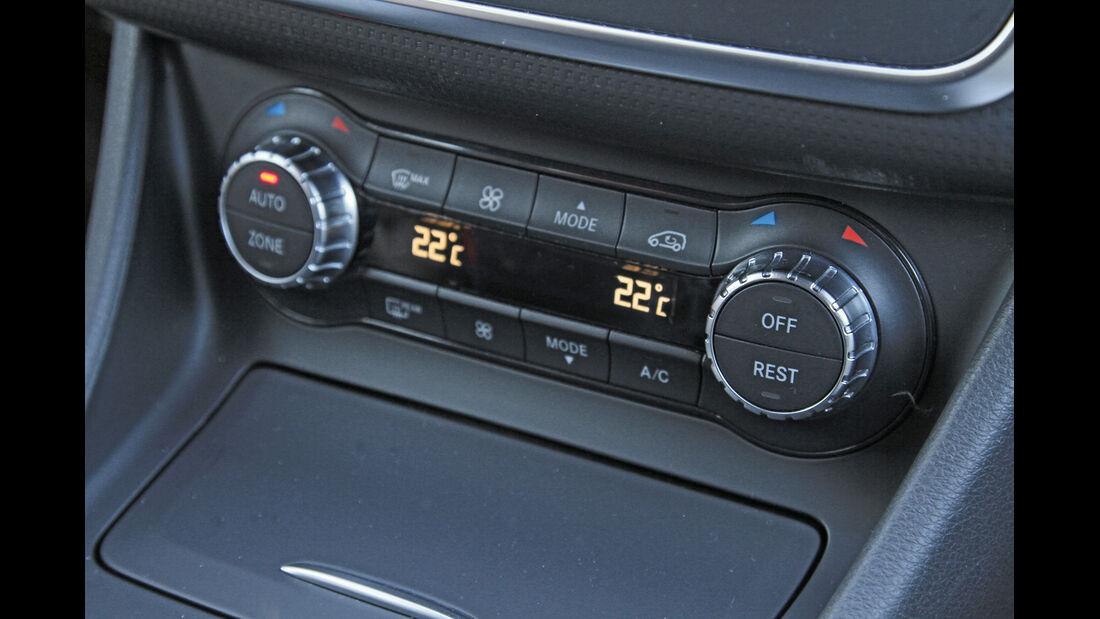 Mercedes A 200 CDI, Heizung
