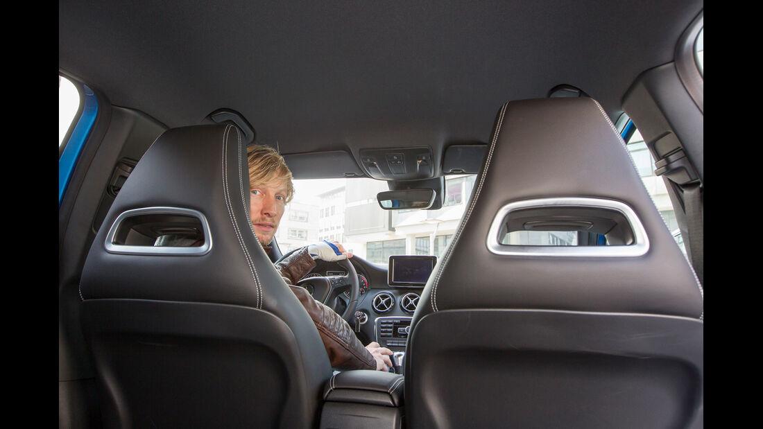 Mercedes A 200 CDI, Kopfstützen