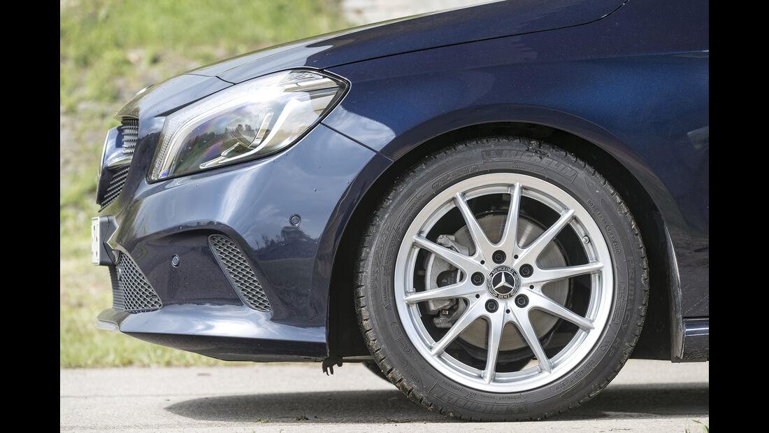 Mercedes A 200, Exterieur