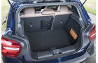 Mercedes A 200, Kofferraum
