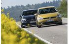 Mercedes A 200, VW Golf 1.5 TSI, Exterieur