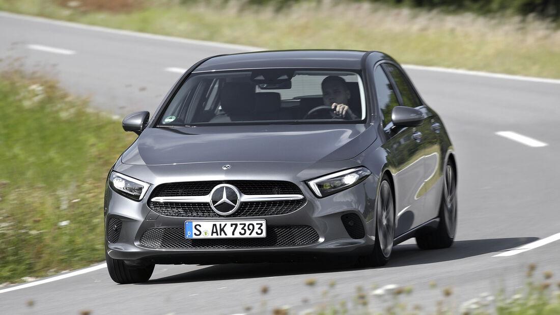 Mercedes A 200 d, Exterieur