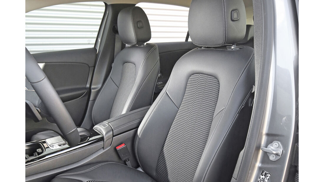 Mercedes A 200 d, Interieur