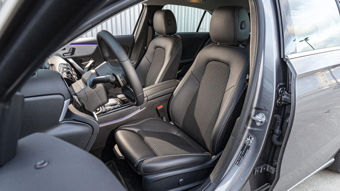 Mercedes A 200 d Progressive, Interieur