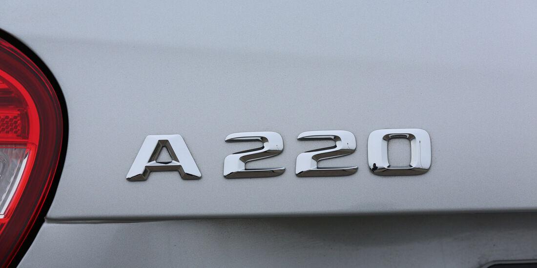 Mercedes A 220 CDI, Typenbezeichnung
