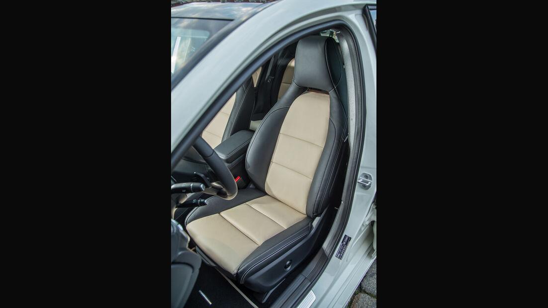 Mercedes A 220 d, Fahrersitz