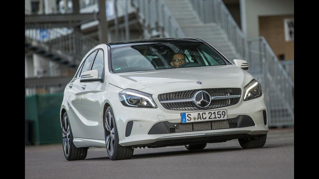 Mercedes A 220 d, Frontansicht