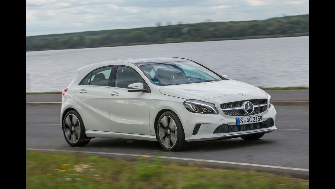 Mercedes A 220 d, Seitenansicht