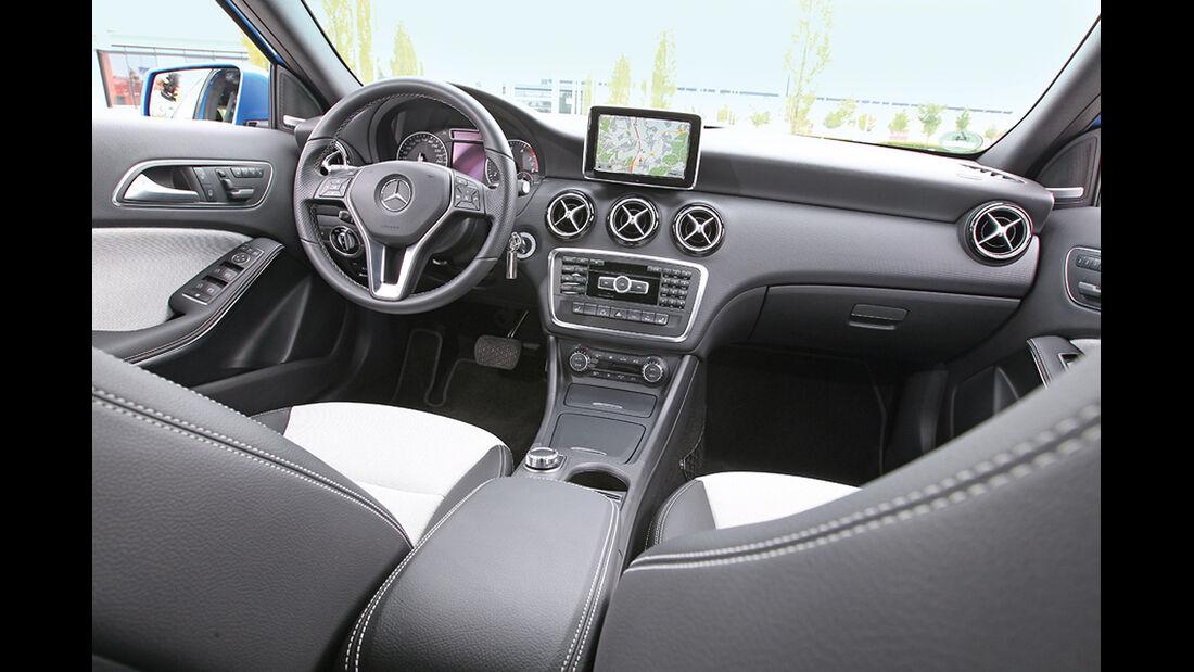 Mercedes A 250, Cockpit