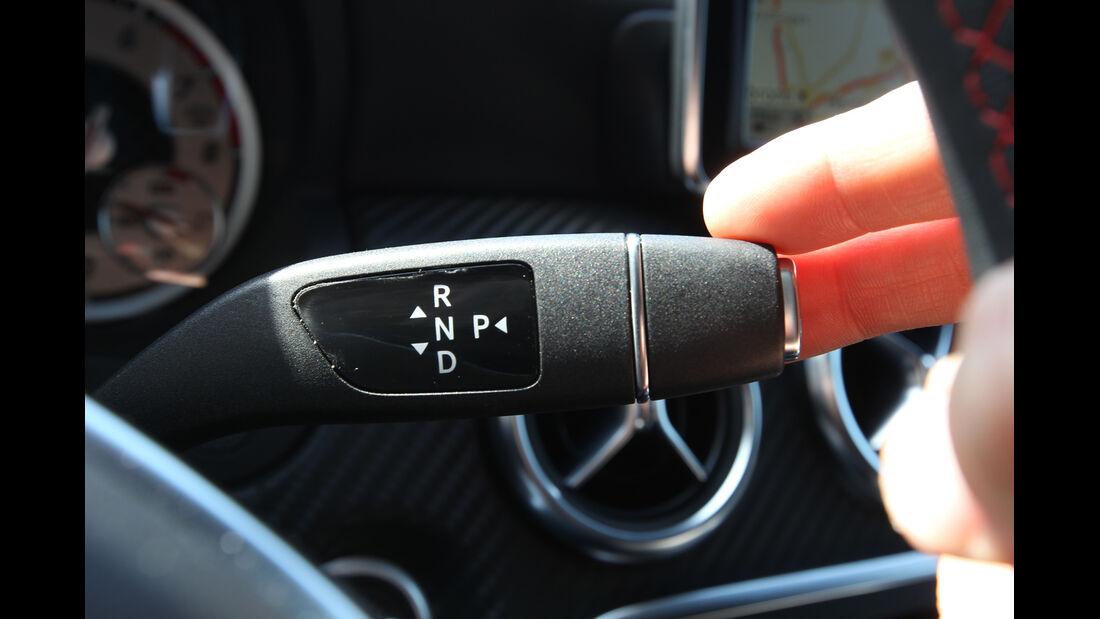 Mercedes A 250, Lenkradhebel
