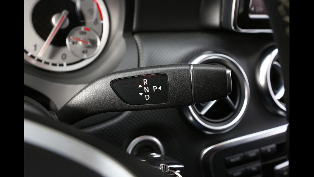 Mercedes A 250, Mercedes A 220 CDI, Lenkradschalter