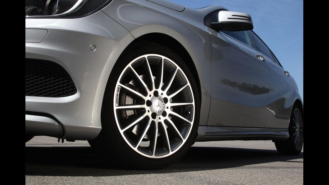 Mercedes A 250, Rad, Felge
