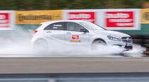 Mercedes A 250 Sport, Auquaplaning