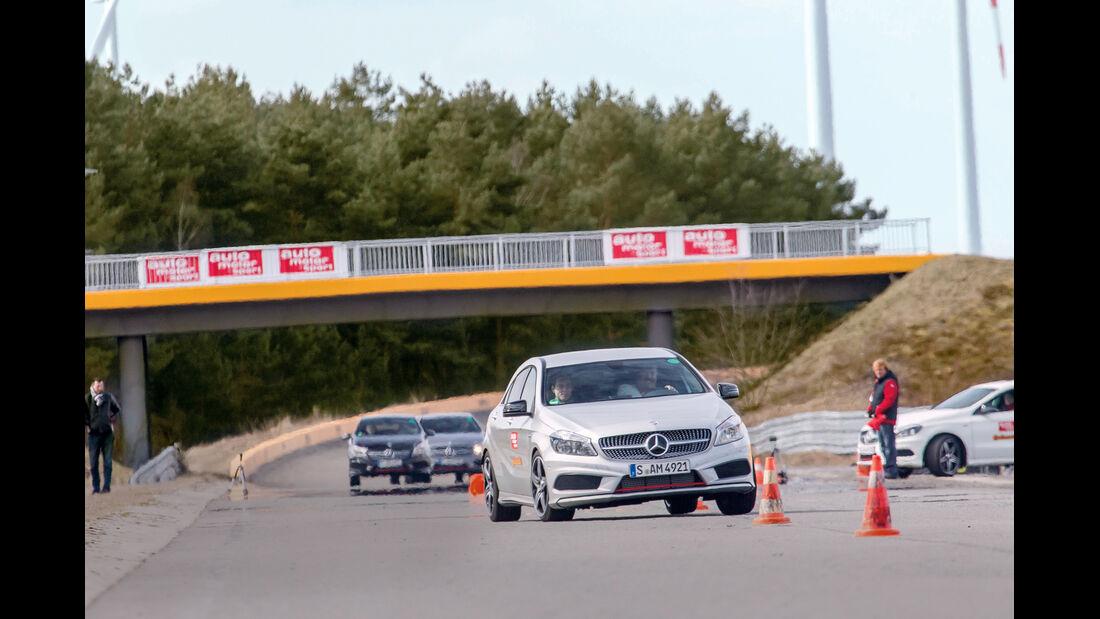 Mercedes A 250 Sport, Slalom