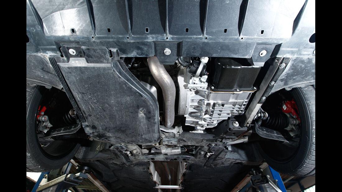 Mercedes A 250 Sport, Unterboden