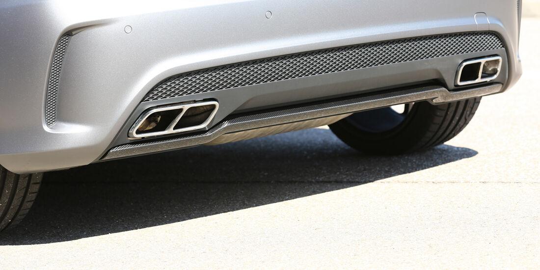 Mercedes A 45 AMG, Auspuff, Endrohr
