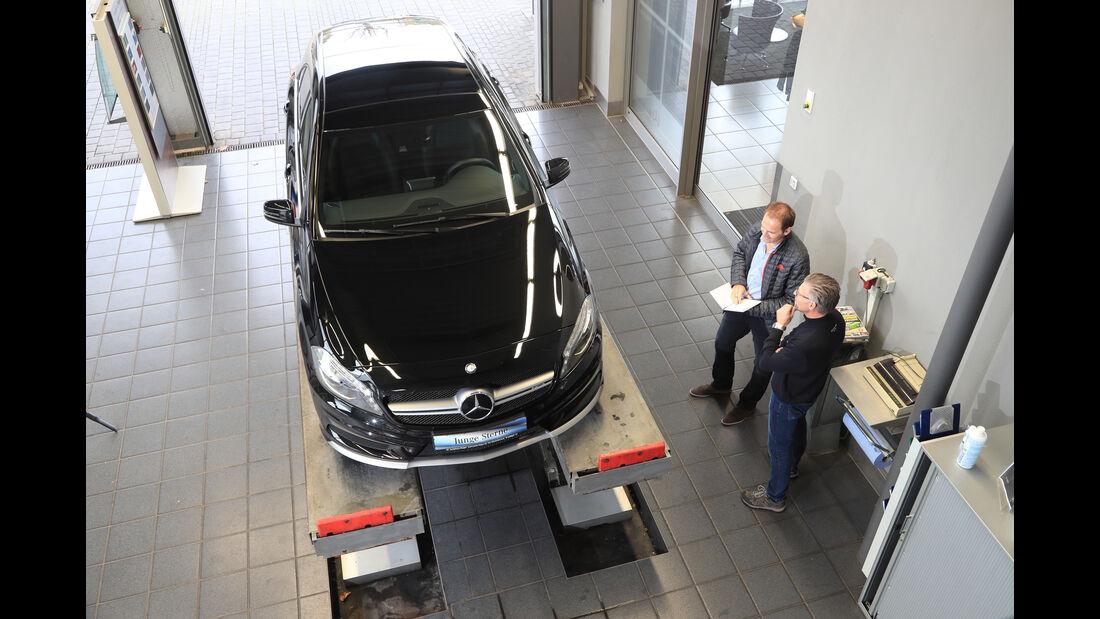 Mercedes A 45 AMG, Draufsicht