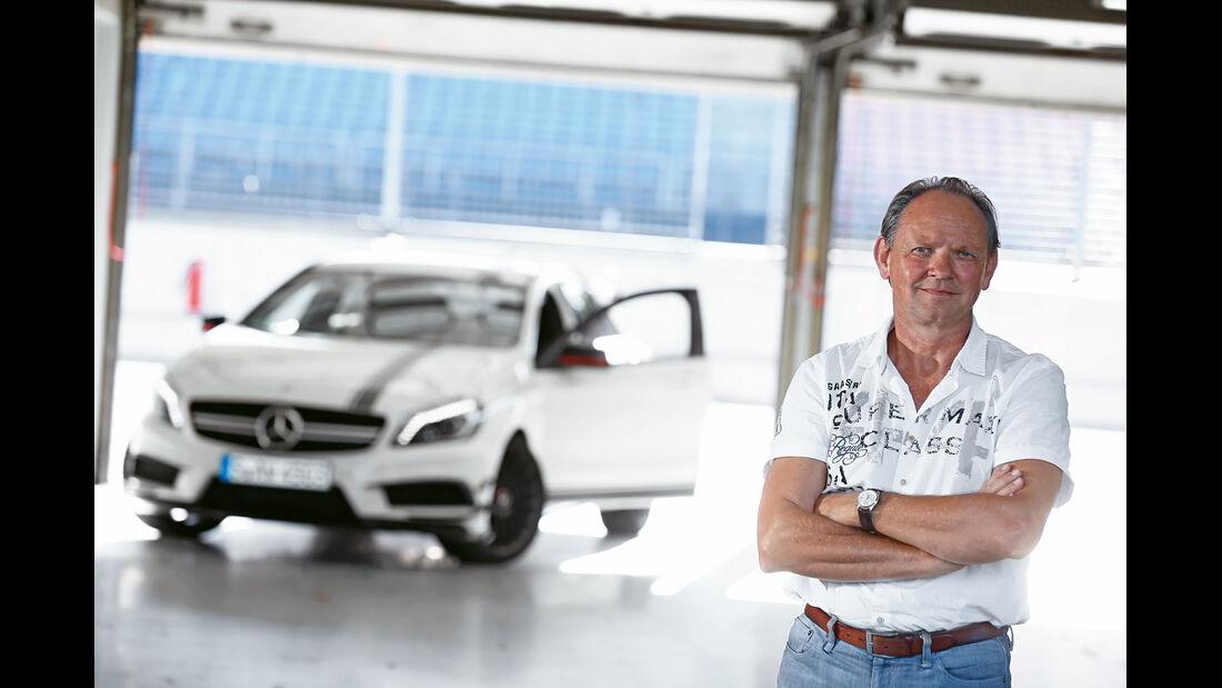 Mercedes A 45 AMG, Fazit, Horst von Saurma