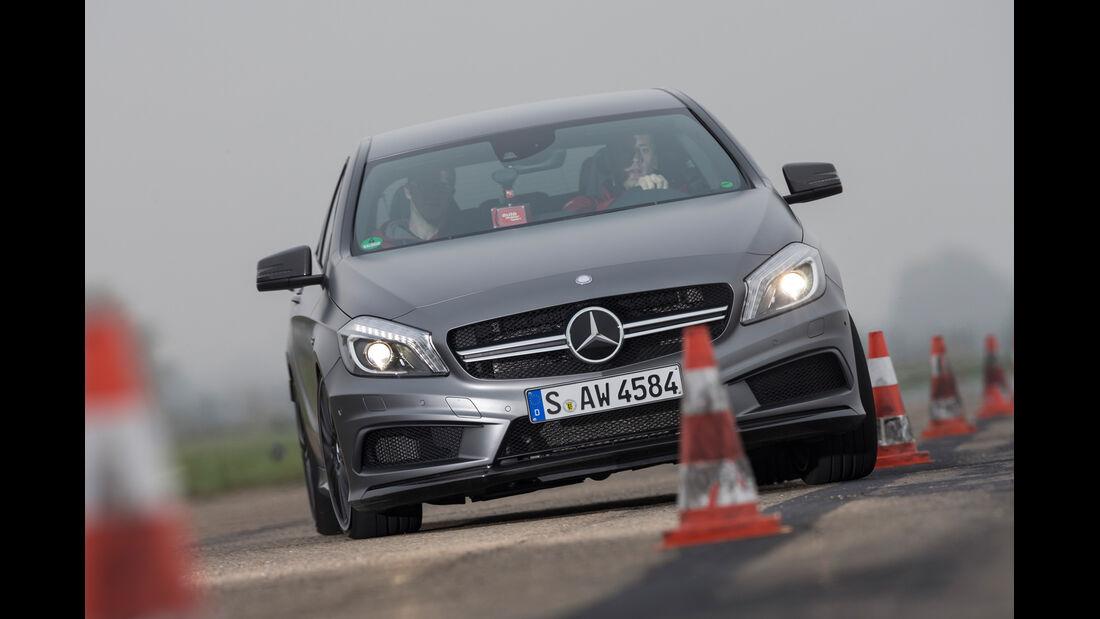 Mercedes A 45 AMG, Frontansicht