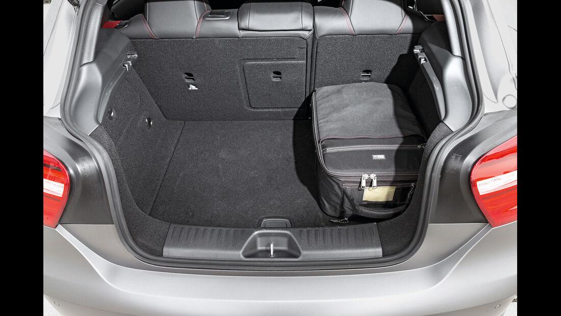 Mercedes A 45 AMG, Kofferraum