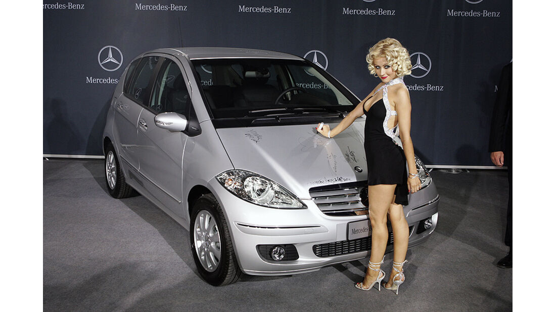 Mercedes A-Klasse, 2007, Christina Aguilera