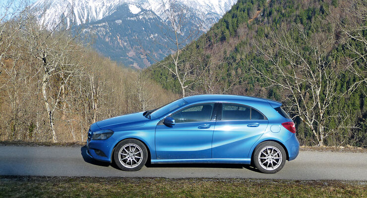 mercedes a 180 cdi blueefficiency edition im test auto motor und sport. Black Bedroom Furniture Sets. Home Design Ideas