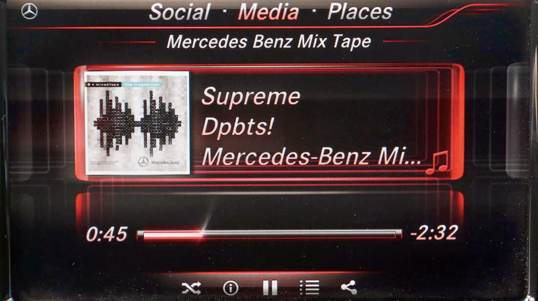 Mercedes A-Klasse, Audio