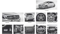 Mercedes A-Klasse Ausstattung