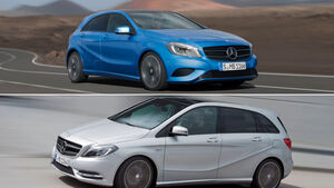 Mercedes A-Klasse, B-Klasse