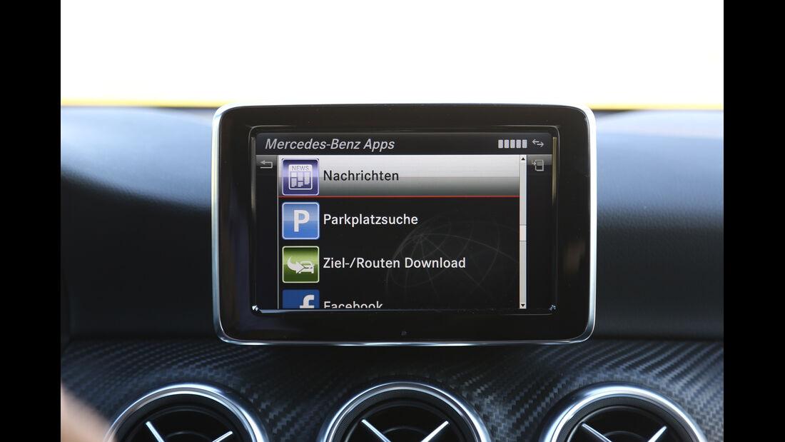 Mercedes A-Klasse, Bildschirm, Bordcomputer