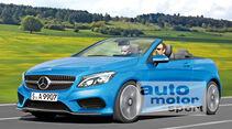 Mercedes A-Klasse Cabrio, Frontansicht