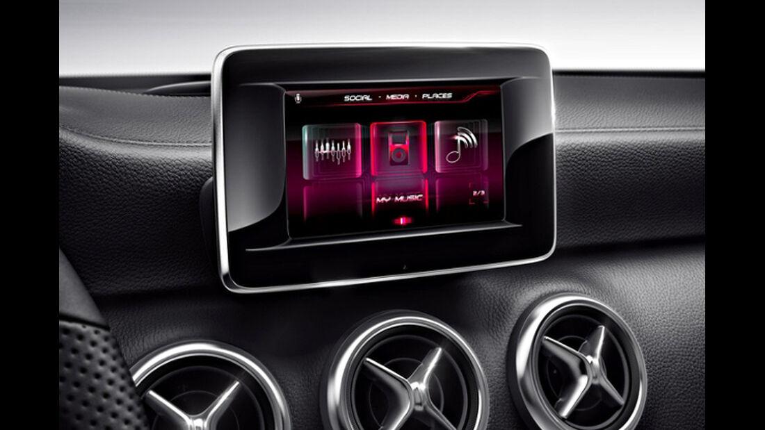 Mercedes A-Klasse, Drive Kit Plus für das Apple iPhone