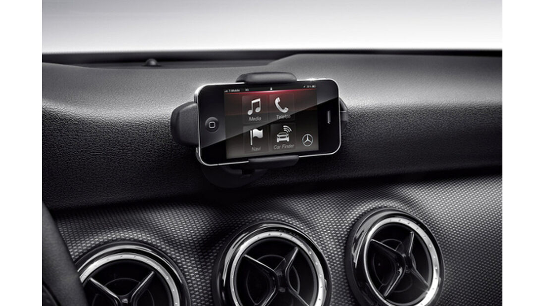 Mercedes A-Klasse, Drive Kit für das Apple iPhone