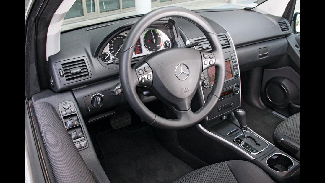 Mercedes A-Klasse E-Cell, Cockpit