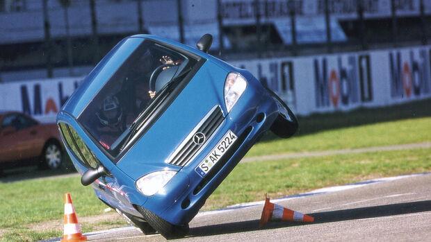 Mercedes A-Klasse, Elchtest
