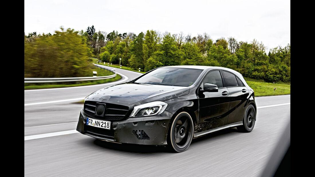 Mercedes A-Klasse, Erlkönig