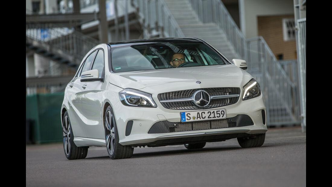 Mercedes A-Klasse Facelift, 09/15, Fahrbericht, Front